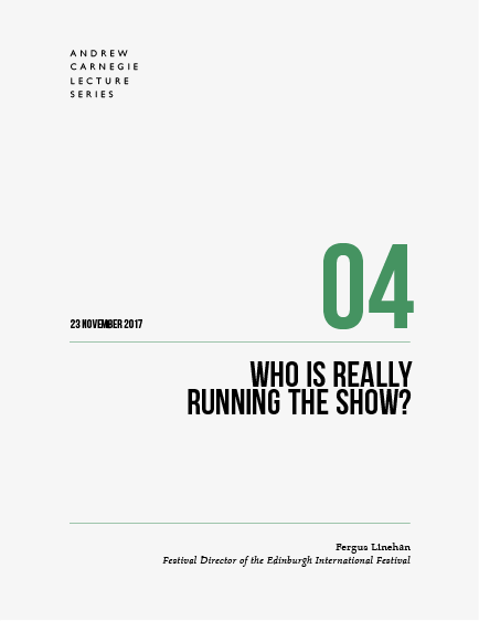 Fergus Linehan: Who is really running the show? book cover