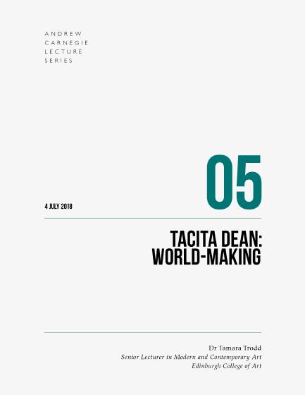 Tacita Dean: World-Making book cover
